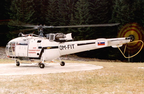 First EMS helicopter in the company