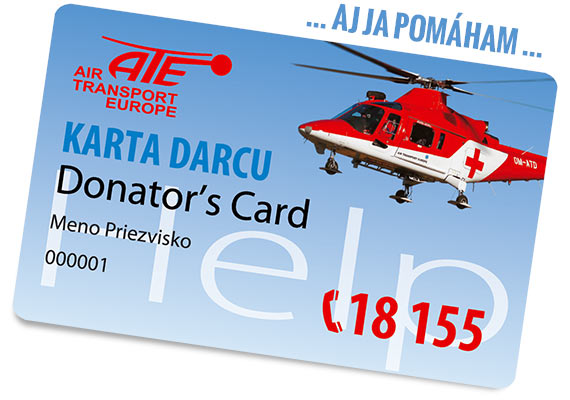 Donor's card